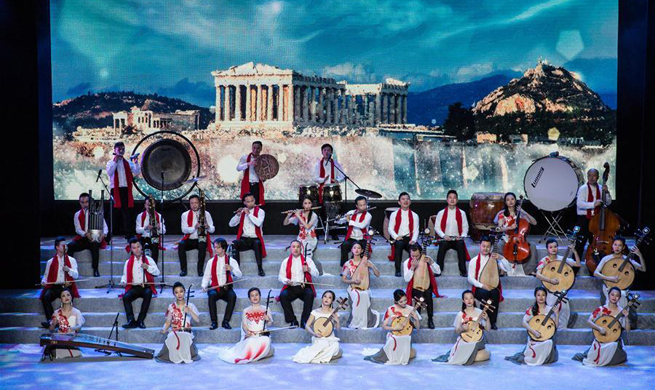 Concert held to mark anniversary of Greece-China diplomatic ties