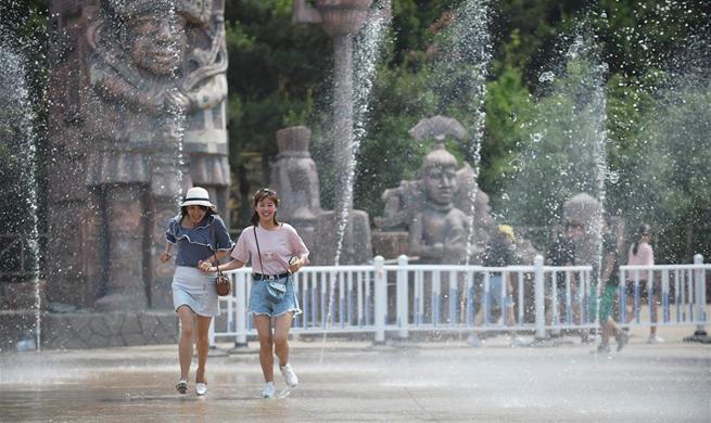 Summer heat hits NE China's Shenyang