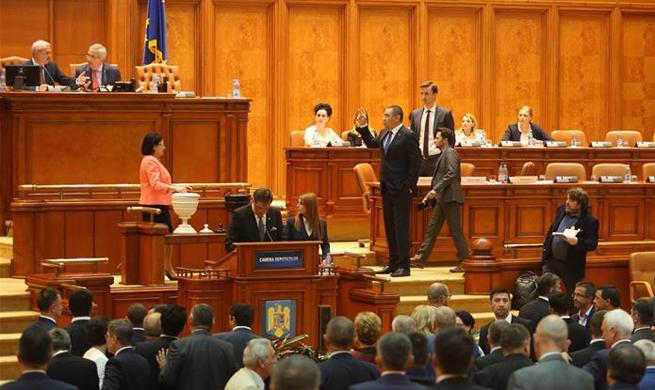 Romanian gov't toppled in censure motion