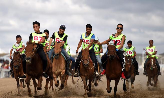 Nadam fair opens in N China's Inner Mongolia