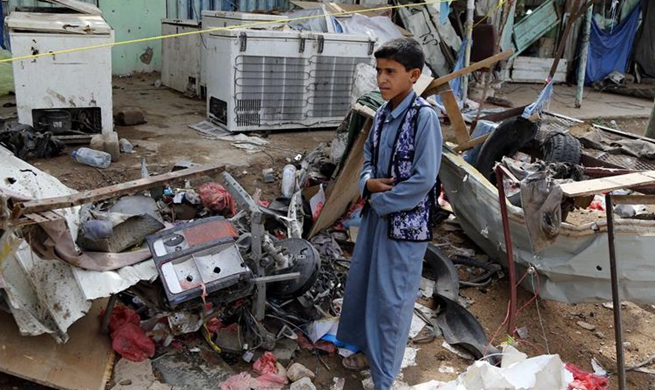 At least 43 killed in Saudi-led airstrike on north Yemen, mostly children