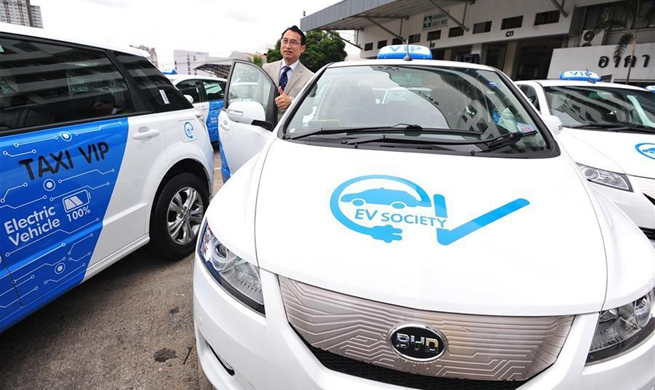 Electric-powered, VIP taxi cabs to ply Bangkok streets next month