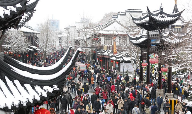Spring Festival travel brings 513.9 bln yuan to China's tourism revenue