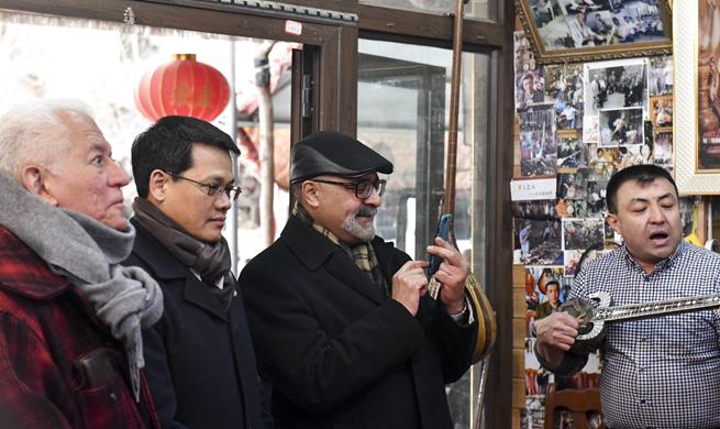 Senior diplomats from 8 countries to UN Geneva office visit Xinjiang