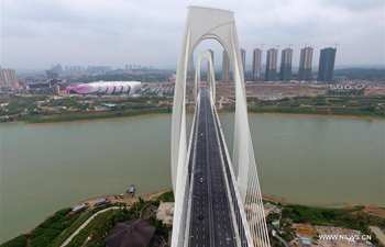 Qingshan Bridge in Nanning opens to traffic