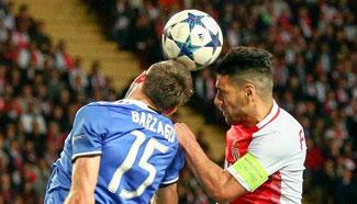 Juventus beats Monaco 2-0 in UEFA Champions League