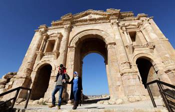 In pics: Tourists enjoy scenery in Jordan