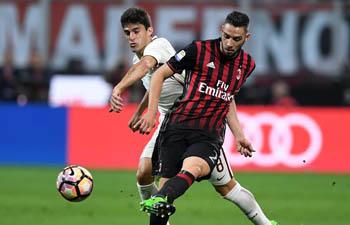 Roma beats AC Milan 4-1 in Italian Serie A soccer match