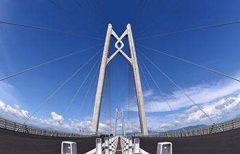 Main structure of Hong Kong-Zhuhai-Macao Bridge finished