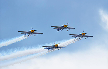 AOPA-China Fly-In 2017 air show opens in SW China's Guizhou
