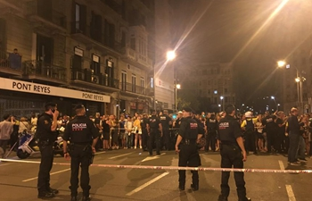 13 killed, over 100 others injured in Barcelona attack: official