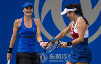 Chan Yung-Jan, Marina Hingis enter semifinal at Wuhan Open