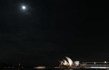 Moon-lit Mid-Autumn night in Sydney