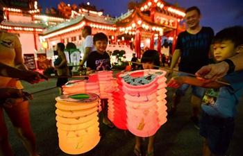 Mid-autumn Festival celebrated in Kuala Lumpur, Malaysia