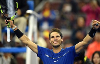 Nadal beats Dimitrov 2-1 at China Open