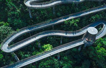 "In pics: ""Fudao"" skywalk in SE China's Fujian"