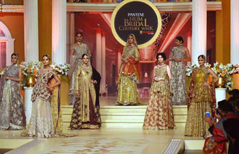 Bridal Couture Week ends in Pakistan's Lahore