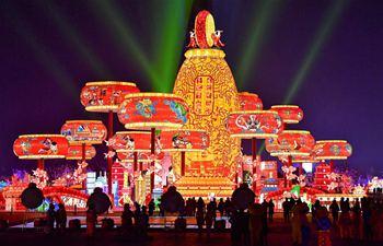 In pics: lantern fairs across China