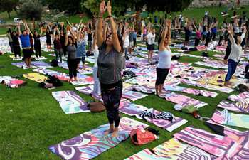 Int'l Day of Yoga marked in Jerusalem