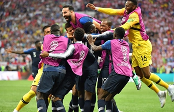 Exciting moments: goal-scoring in 2018 FIFA World Cup