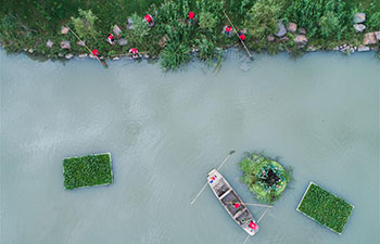 "China rolls out ""river chief"" scheme nationwide"