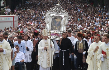 Assumption Day celebrated in Sinj, Croatia