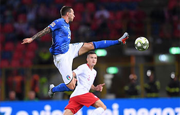 UEFA Nations League: Italy ties with Poland 1-1