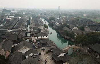 Scenery in Wuzhen, east China's Zhejiang