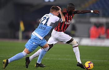 Lazio, Milan draw 0-0 in Italy Cup semi-final