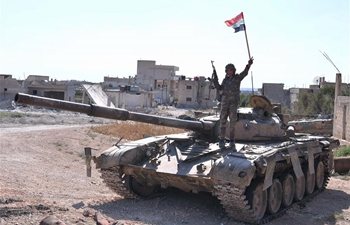 Northern Hama countryside empty of Syria's rebels for 1st time since 2012