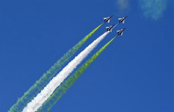 Activity celebrating 70th founding anniv. of PLA air force held in Changchun, Jilin