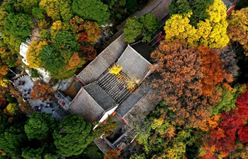 Scenery of Shaohua Mountain in northwest China's Shaanxi
