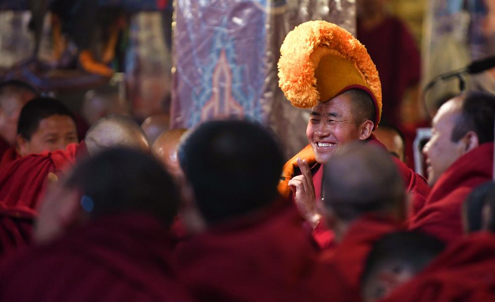 2018年度藏传佛教格西拉让巴学位考试夏季预考开考