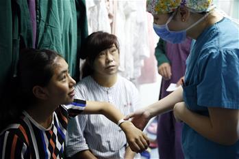 188bet怎么样8名先天性疾病患儿在北京接受治疗