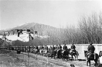 第一支進入西藏的部隊:第18軍