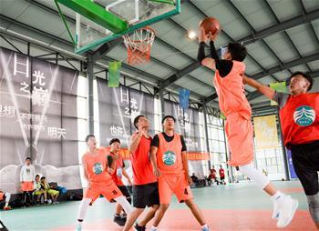 2017年CAAU全國青少年業余籃球聯賽拉薩站開賽