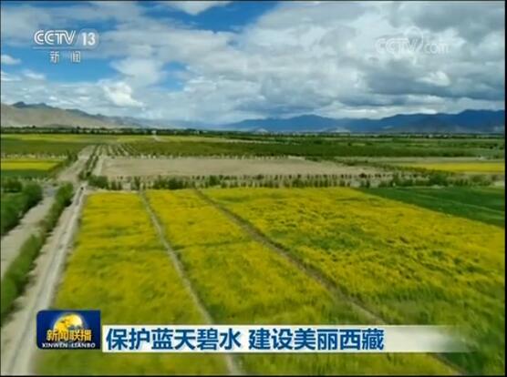 保護藍天碧水 建設美麗西藏