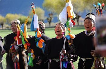 西藏工布地區:喜迎工布新年