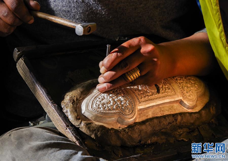 西藏謝通門縣:傳統手工業促脫貧
