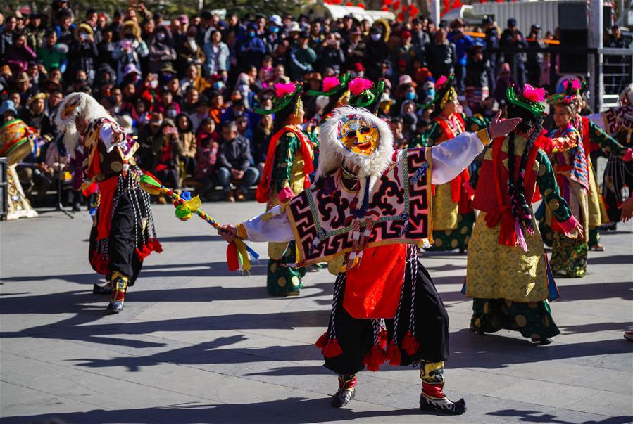 西藏各族幹部群眾共慶春節、藏歷新年