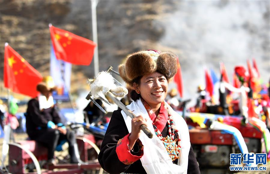 西藏:開啟春耕第一犁
