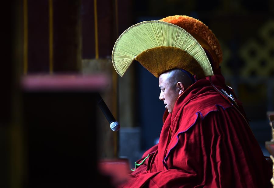 西藏9名僧人獲得格西拉讓巴學位