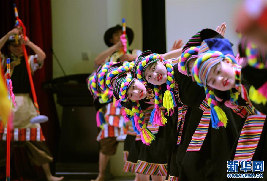 西藏:文藝匯演迎全國助殘日