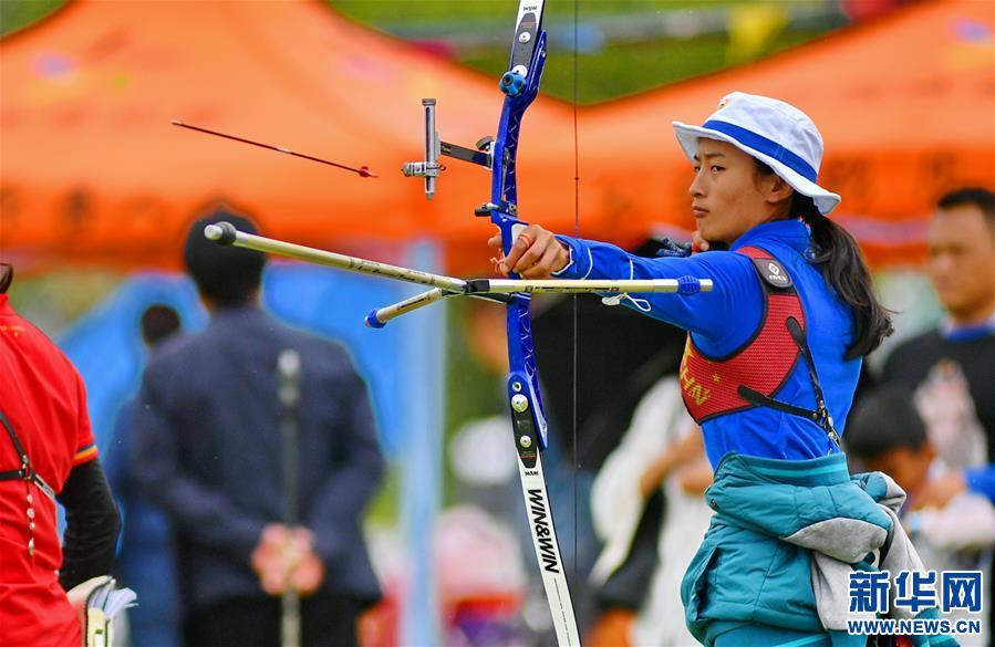西藏自治區運動會射箭比賽在拉薩舉行