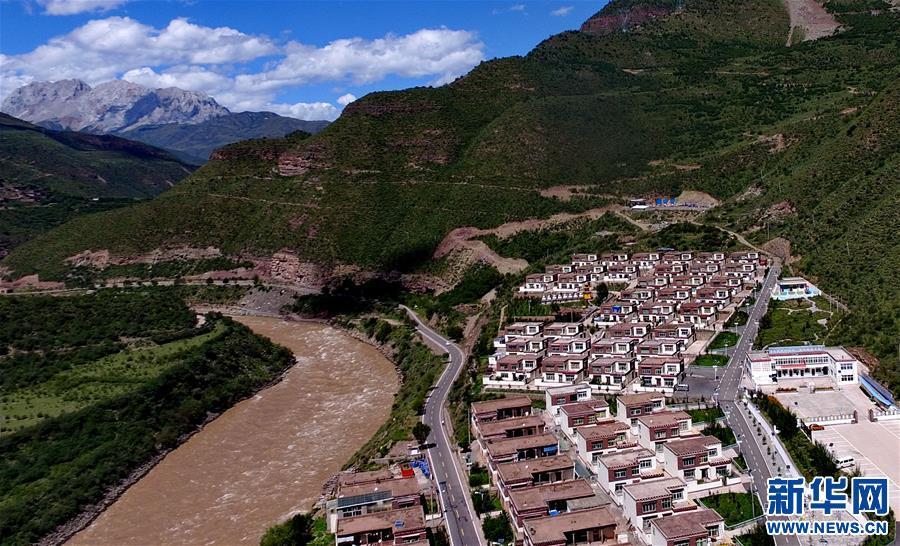 西藏昌都:小康路上的美麗家園(圖)