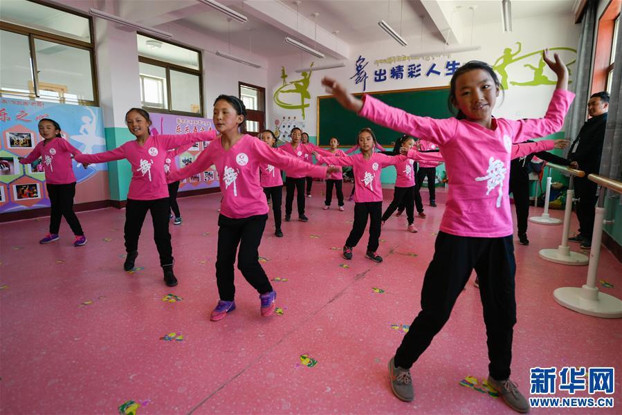 西藏阿裏:牧區小學推進義務教育均衡發展(圖)