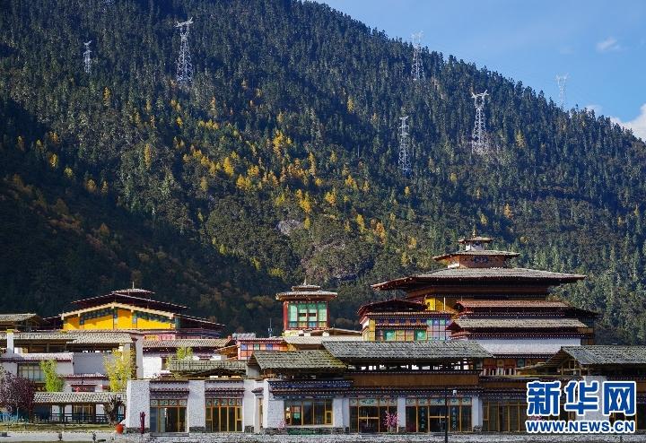 """西藏魯朗被授予""""中國最美戶外小鎮"""""""