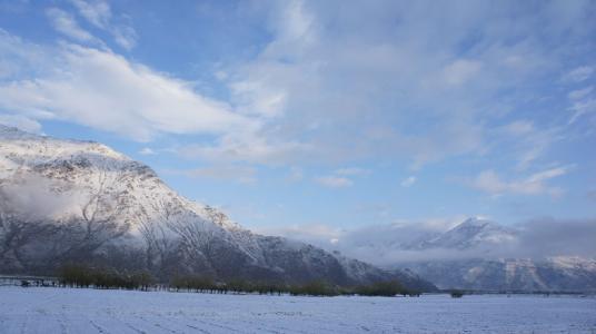 【微視頻】西藏邊境高寒縣的奇幻雪景之旅