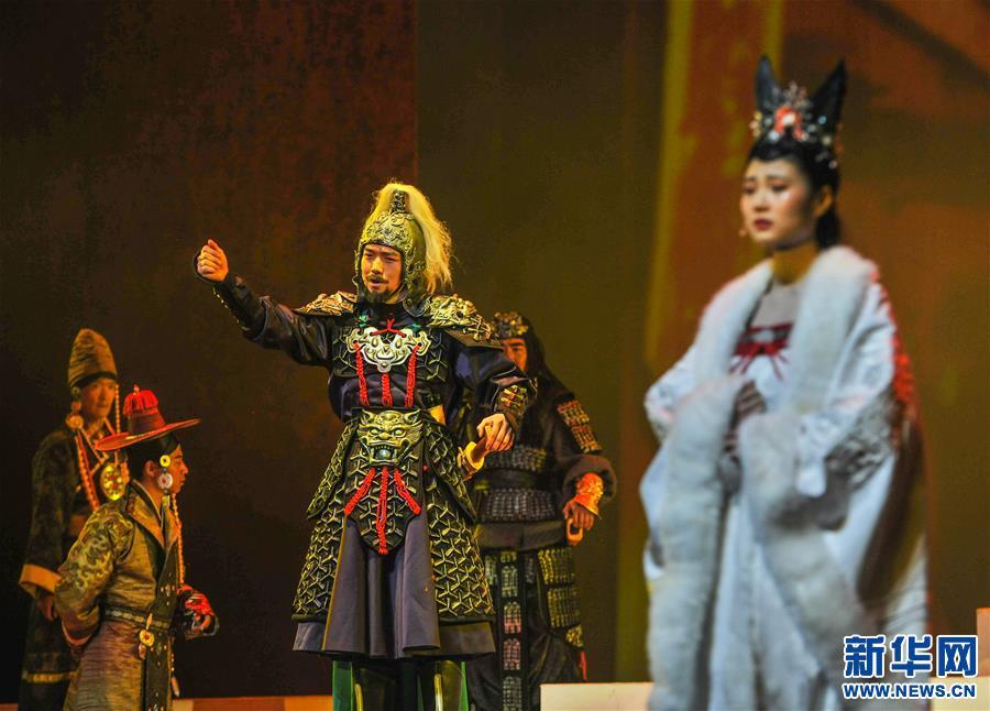 舞臺劇《金城公主》正式公演(圖)