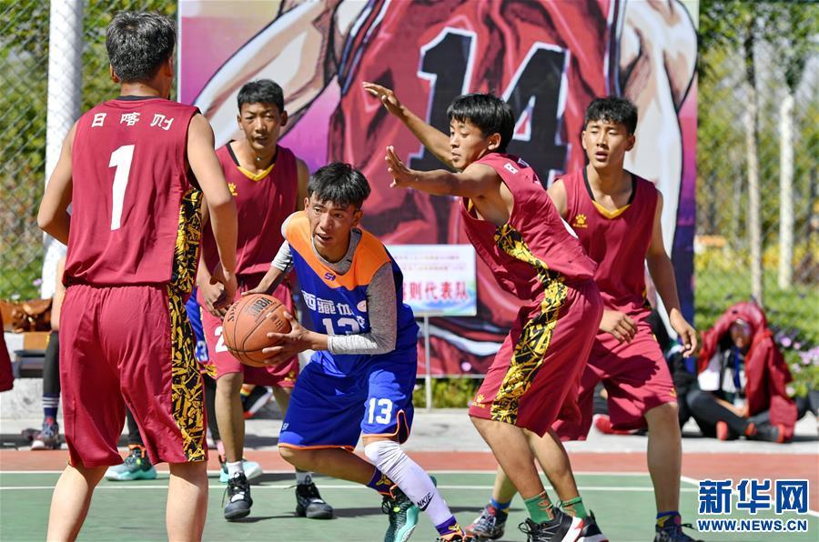 籃球——西藏自治區第三屆籃球錦標賽(U18)在拉薩舉行(圖)